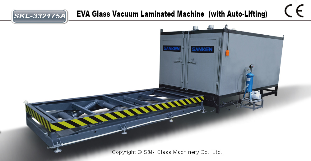 EVA 夹胶炉(带液压升降)