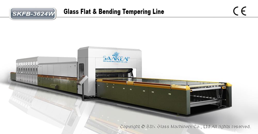 水平式平弯玻璃钢化炉